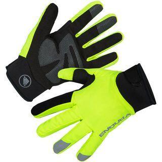 Endura Strike Waterproof Glove hi-viz yellow