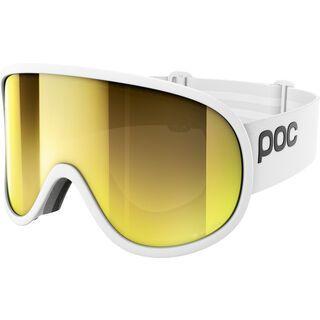POC Retina Big Clarity, hydrogen white/spektris gold - Skibrille