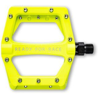 Cube RFR Pedale Flat CMPT neon yellow