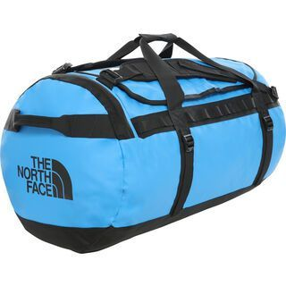 The North Face Base Camp Duffel - Large, clear lake blue/tnf black - Reisetasche