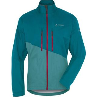 Vaude Men's Tremalzo Rain Jacket, green spinel - Radjacke