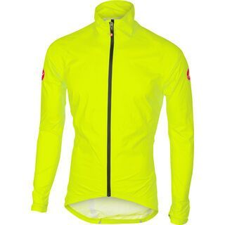 Castelli Emergency Rain Jacket, yellow fluo - Radjacke