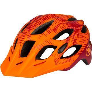 Endura Hummvee Youth Helmet tangerine