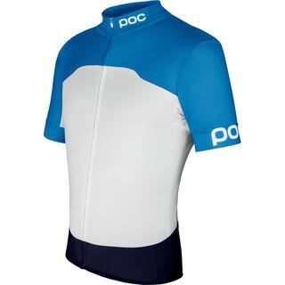 POC Raceday Climber Jersey, blue hydrogen white - Radtrikot