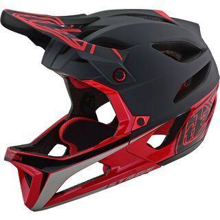 TroyLee Designs Stage Race Helmet MIPS, black/red - Fahrradhelm