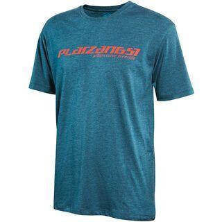 Platzangst Logo Function T-Shirt, green - Radtrikot