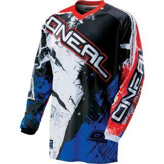 ONeal Element Jersey Shocker, black/red/blue - Radtrikot