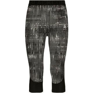 Odlo Blackcomb 3/4 Baselayer Pants, black - Unterhose