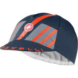 Castelli Hors Categorie Cap savile blue/light steel blue/brilliant orange