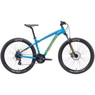 Kona Lana'I 27.5 2019, cyan w/ yellow & black - Mountainbike