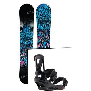 Set: Lib Tech Banana Magic 2017 + Burton Custom (1464181S)