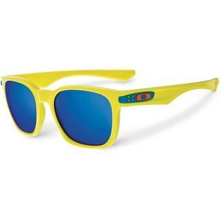 Oakley Garage Rock Fathom Color Collection, Neon Yellow/Ice Iridium - Sonnenbrille
