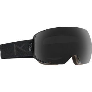 Anon M2 + Spare Lens, smoke/dark smoke - Skibrille