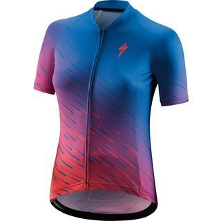 Specialized Women's SL Shortsleeve Jersey pro blue/acid pink