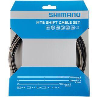 Shimano Schaltzug-Set MTB Sil-Tec beschichtet, schwarz