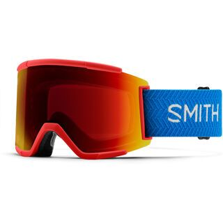 Smith Squad XL inkl. WS, rise block/Lens: cp sun red mir - Skibrille
