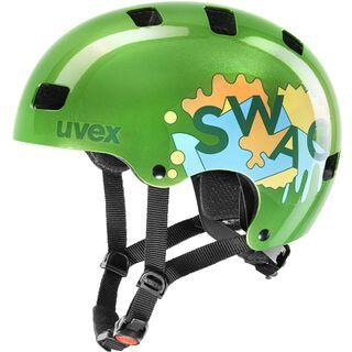uvex kid 3, green - Fahrradhelm