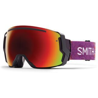 Smith I/O 7 + Spare Lens, sage kaleido/red sol-x mirror - Skibrille