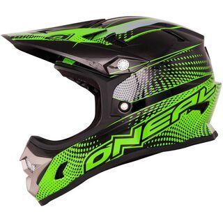 ONeal Fury Fidlock DH Helmet Evo Flyer, black/neon green - Fahrradhelm