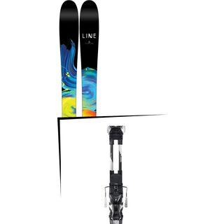 Set: Line Pandora 110 2017 + Atomic Tracker 13 MNC 115 mm, black/silver - Skiset