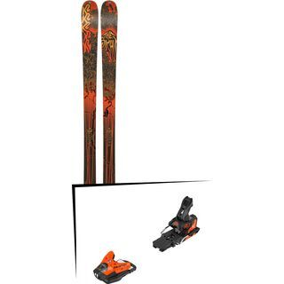 Set: K2 SKI Sight 2019 + Salomon STH2 WTR 13 orange/black
