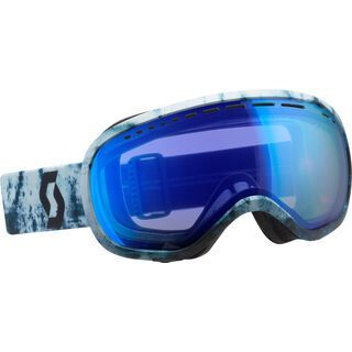 Scott Off-Grid, blue black/Lens: blue chrome - Skibrille
