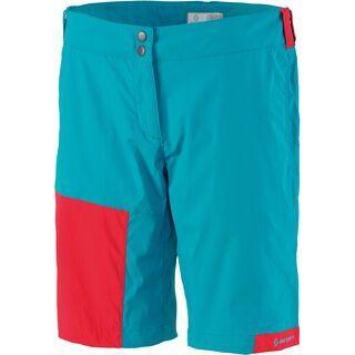 Scott Womens Trail MTN 20 Shorts, ocean blue/hibiscus red - Radhose