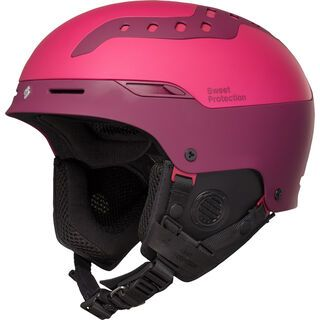 Sweet Protection Switcher Womens, matte rubus/ron red - Skihelm