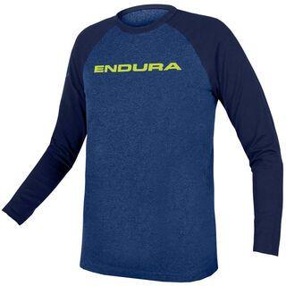 Endura Kids One Clan Raglan L/S blau