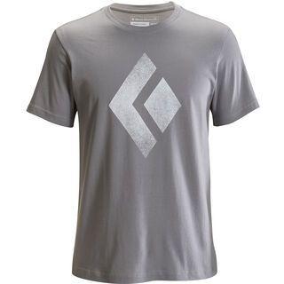 Black Diamond S/S Chalked Up Tee, nickel - T-Shirt