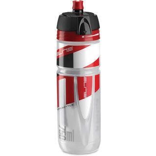 Elite Super Jossanova, transparent/rot - Trinkflasche