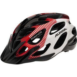 Alpina Mythos 2.0, black-red-white - Fahrradhelm