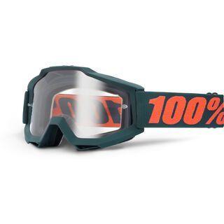 100% Accuri, gunmetal/Lens: clear - MX Brille