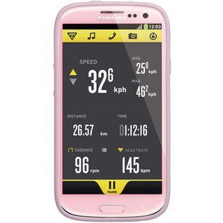 Topeak RideCase Samsung Galaxy S3 mit Halter, pink - Schutzhülle