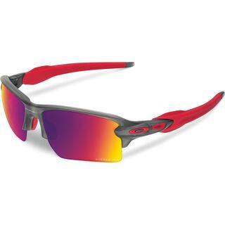 Oakley Flak 2.0 XL Prizm Road, matte grey smoke - Sportbrille