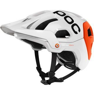 POC Tectal Race, hydrogen white orange - Fahrradhelm