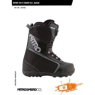 Nitro Fader TLS, Black - Snowboardschuhe