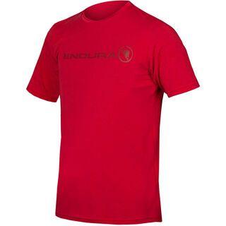 Endura SingleTrack Merino T, rust red - Radtrikot