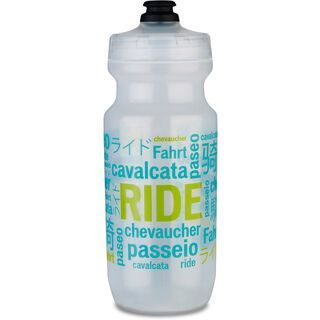 Specialized Little Big Mouth 21 oz Water Bottle, translucent/teal - Trinkflasche