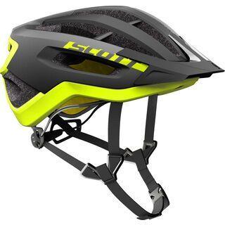 Scott Fuga Plus Helmet, black/yellow RC - Fahrradhelm