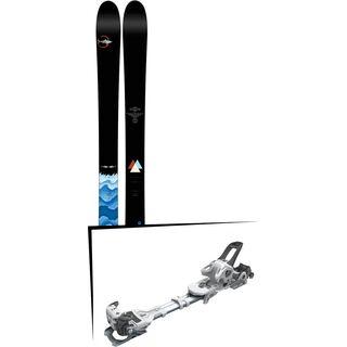 Set: Line Sir Francis Bacon 2017 + Tyrolia Ambition 12 ohne Bremse, solid white black - Skiset