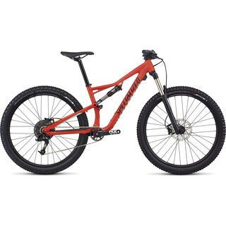 Specialized Woman's Camber FSR Base 650B 2017, red/turquoise/black - Mountainbike