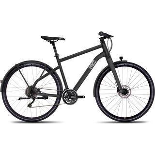 Ghost Square Urban X 8 2016, gray/silver - Urbanbike