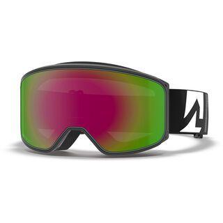 Marker Spectator, black/Lens: pink plasma mirror - Skibrille