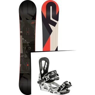 Set: K2 Standard Wide 2018 + Nitro Pusher ice camo