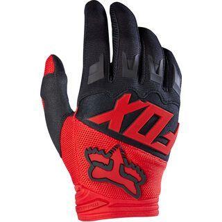 Fox Dirtpaw Race Glove, red - Fahrradhandschuhe