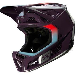 Fox Rampage Pro Carbon Helmet Daiz dark purple