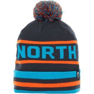 The North Face Ski Tuke V, navy/persian orange - Mütze