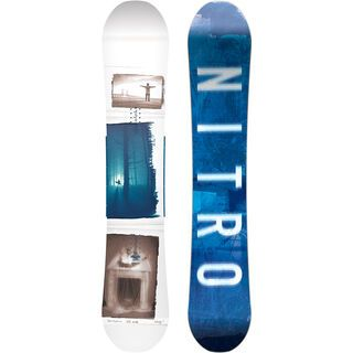 Nitro Team Exposure Gullwing Wide 2018 - Snowboard
