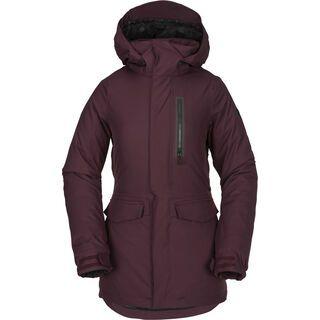 Volcom Shelter 3D Stretch Jacket, merlot - Snowboardjacke